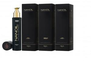 Nanoil dla trzech prorowatości