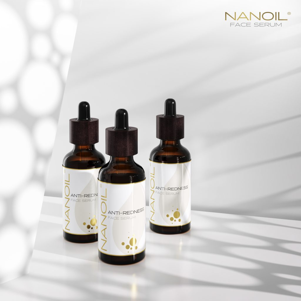 najlepsze serum do cery naczynkowej Nanoil